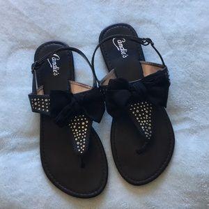 9155996e15108 Candie s Sandals women s size 7-8
